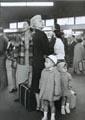 Gare Montparnasse, Paris, août 1959