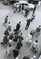 Devant la gare Montparnasse, Paris, juillet 1959