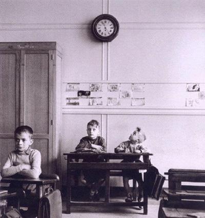 Le cadran scolaire, 1956