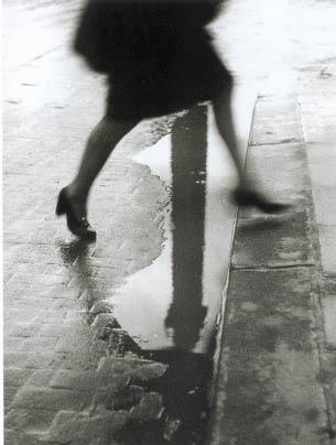 Pluie place Vendôme, Paris, 1947