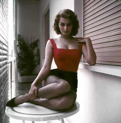 Sophia LOREN, Italie, Rome 1955